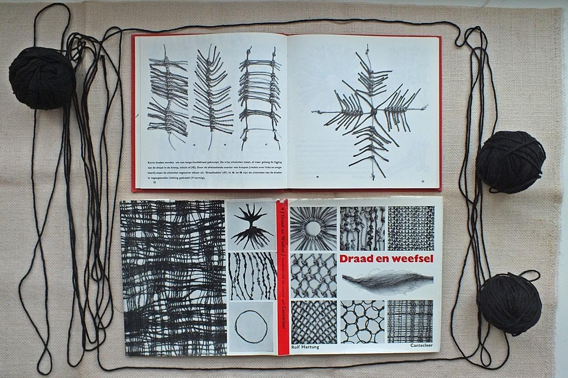 boek draad en weefsel