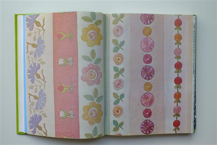 Bladzijde uit handwerkboek
