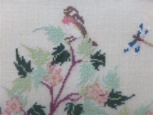 Detail vogeltjesboom