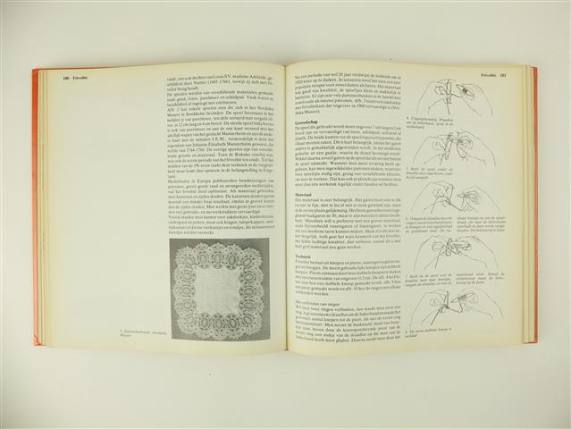 Pagina uit boek Alles over handwerken
