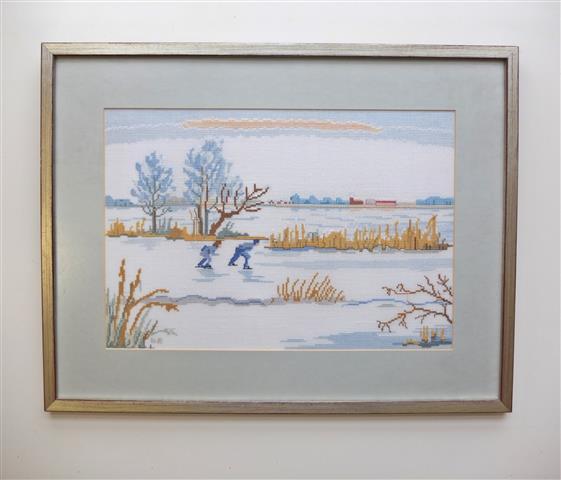 Winterschilderij