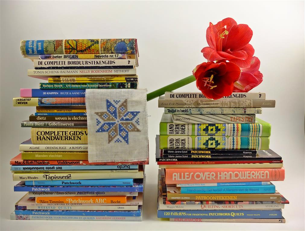 Stapel handwerkboeken