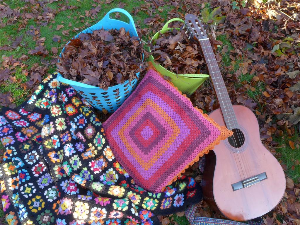 Oude grannies en gitaar