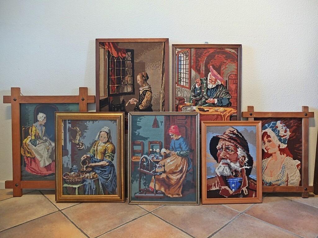 Tapisserie schilderijen
