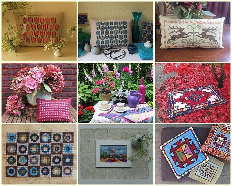 Collage handwerken gemaakt in 2013