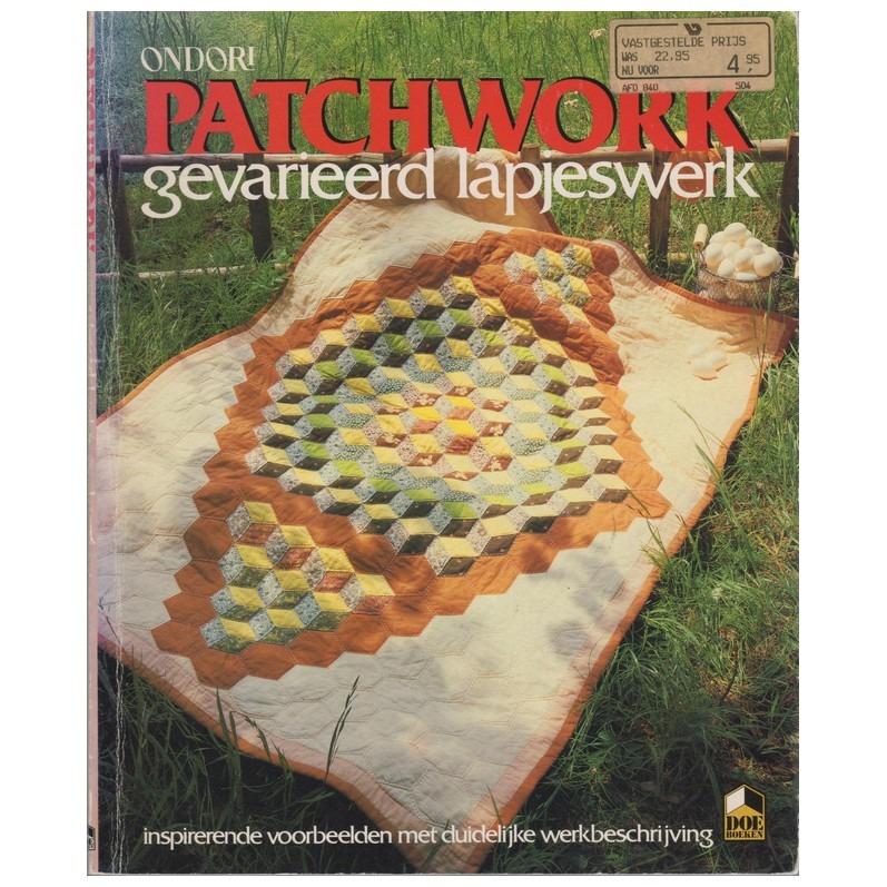 Boek Patchwork lapjeswerk