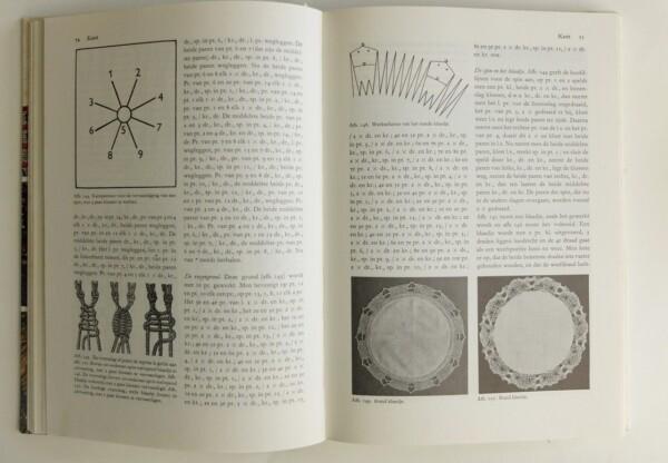 Pagina uit het grote handwerkboek