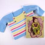 Babytruitje en patronenboekje babykleertjes