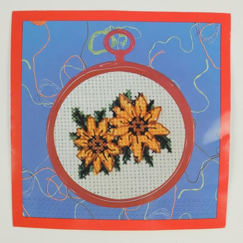 Borduurwerkje zonnebloemen