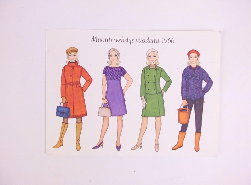 Textielkaart uit Finland