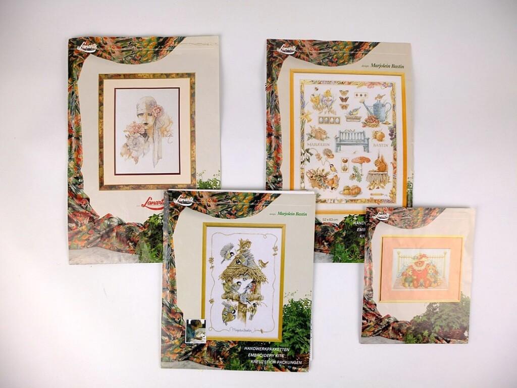 Vier borduurpatronen van Lanarte