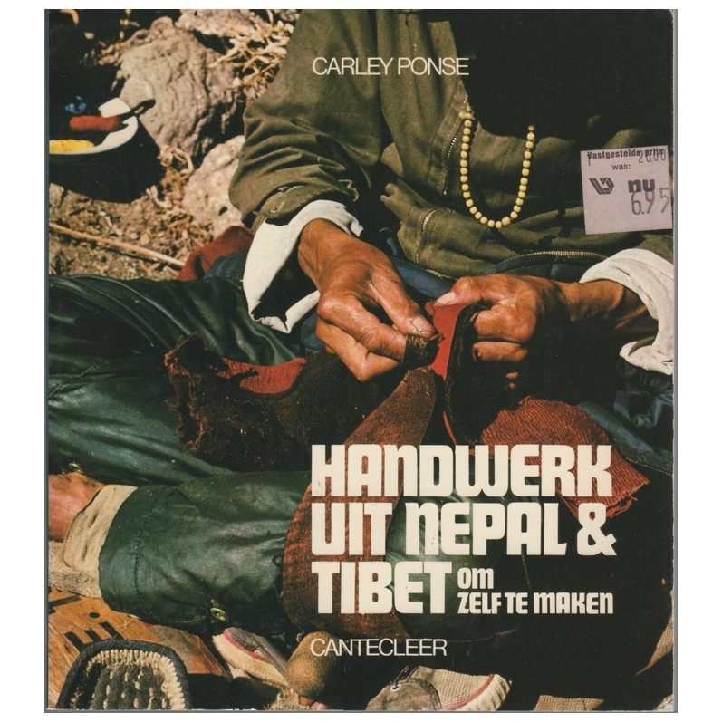 Boek Handwerk uit Nepal&Tibet