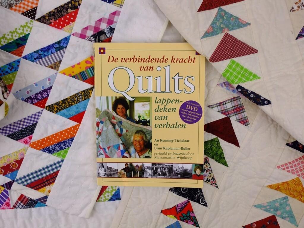 Boek De verbindende kracht van quilts