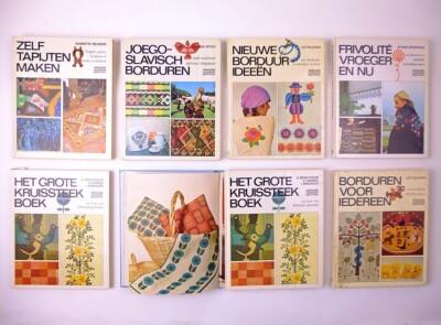 Boeken uit de Ariadne handwerkbibliotheek