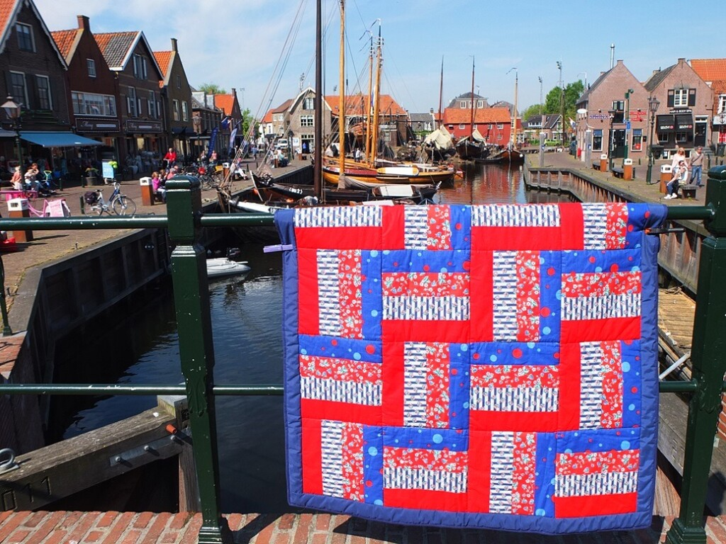 Hollandse quilt in Spakenburg