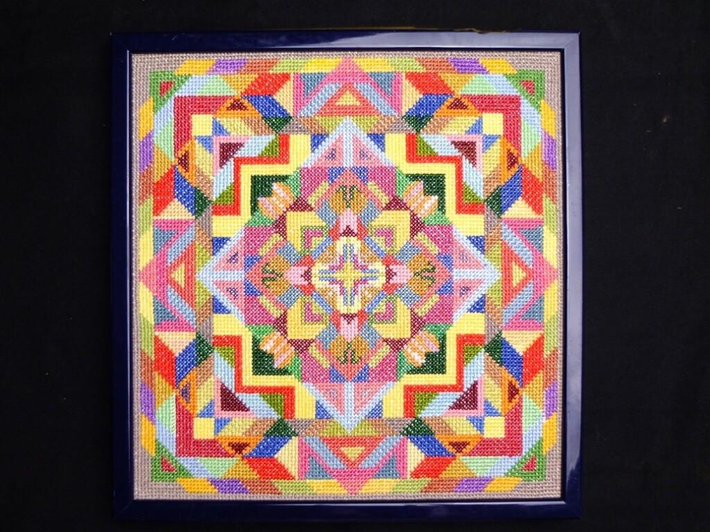 Kleurig borduurwerk