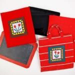 Lei, iPad hoes en Seminole patchwork