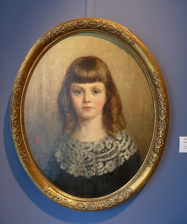 Schilderij meisje van Piet Slager