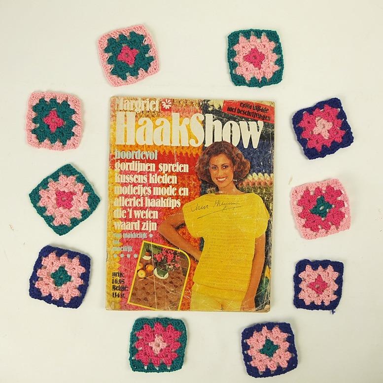 Tijdschrift Haakshow met Granny Squares