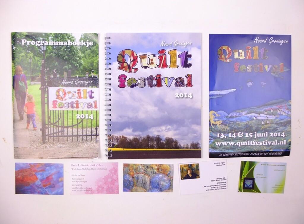Programmaboekje quiltfestival