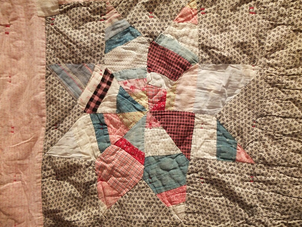 Detail quilt uit collectie Pass on the Comfort