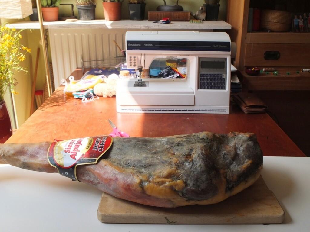 Ham voor naaimachine