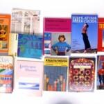 Vintage handwerkboeken