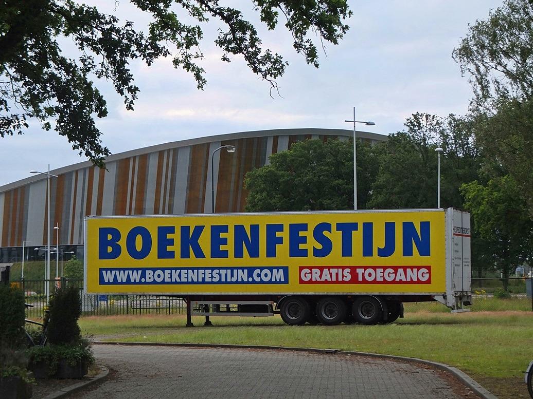 Vrachtwagen Boekenfestijn