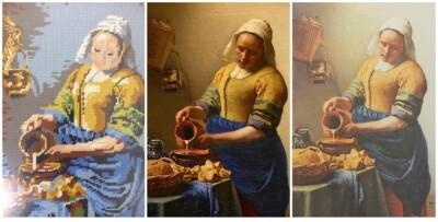 Drie keer Melkmeisje Vermeer