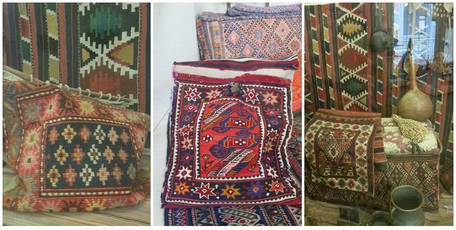 Drie foto's kleden in museum St.Petersburg