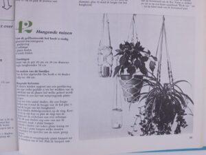 Macramé plantenhanger uit Het nieuwe handwerkboek