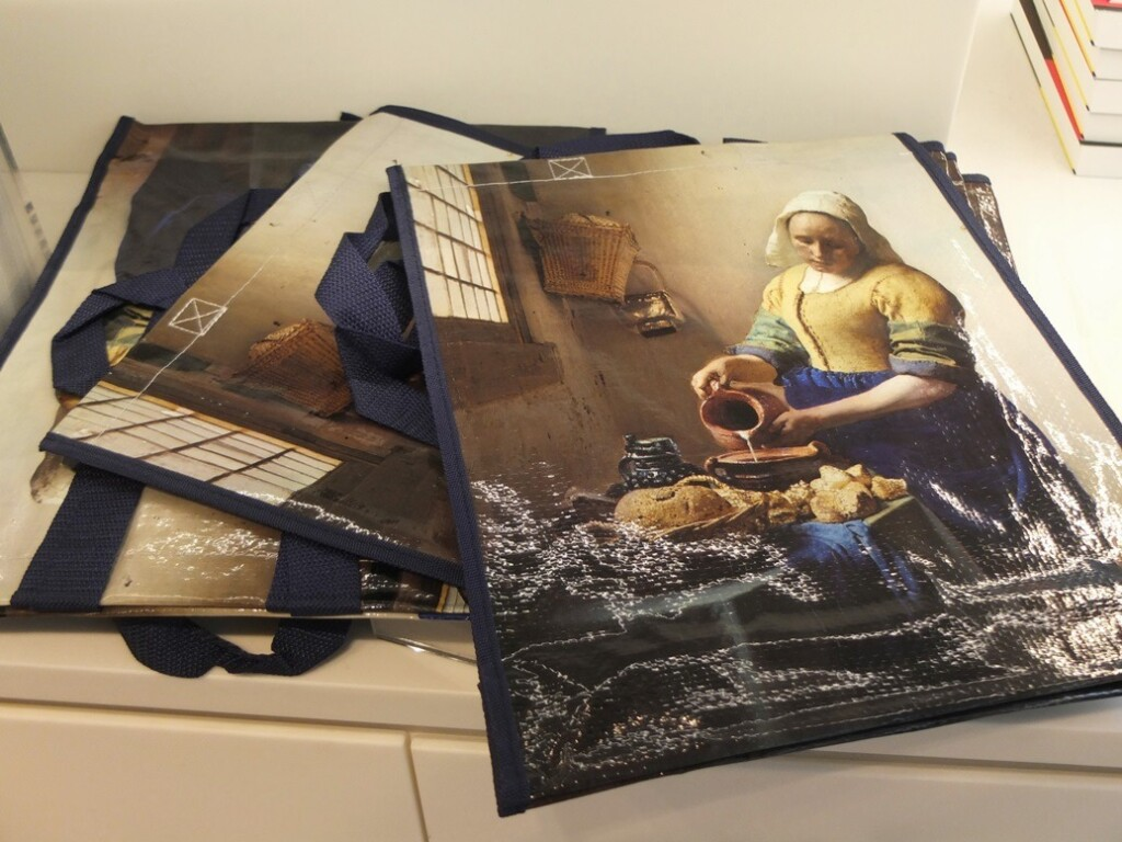Tassen met afbeelding Melkmeisje Vermeer