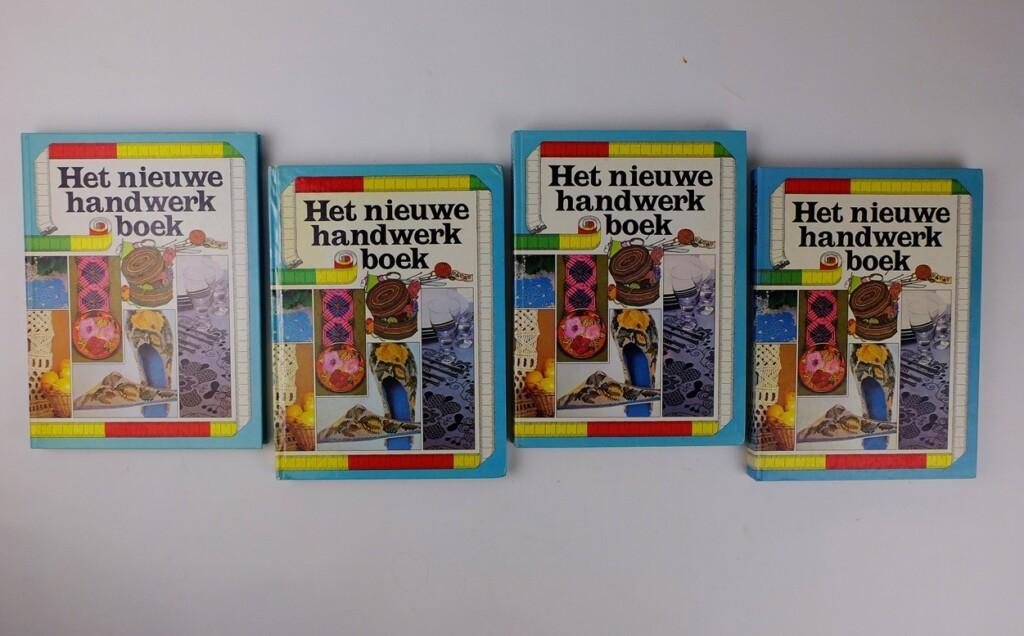 Vier nieuwe handwerkboeken
