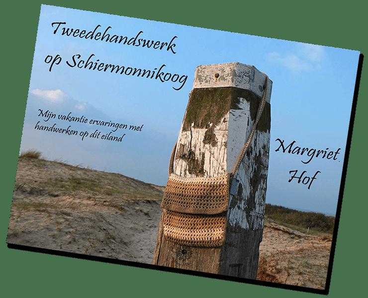 De voorpagina van ebook over tweedehandswerk op Schiermonnikoog