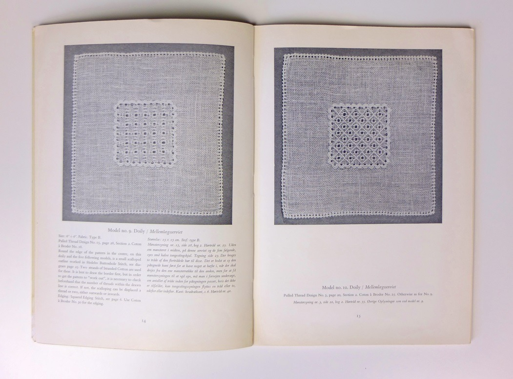 Bladzijden uit boek Pulled Thread Work