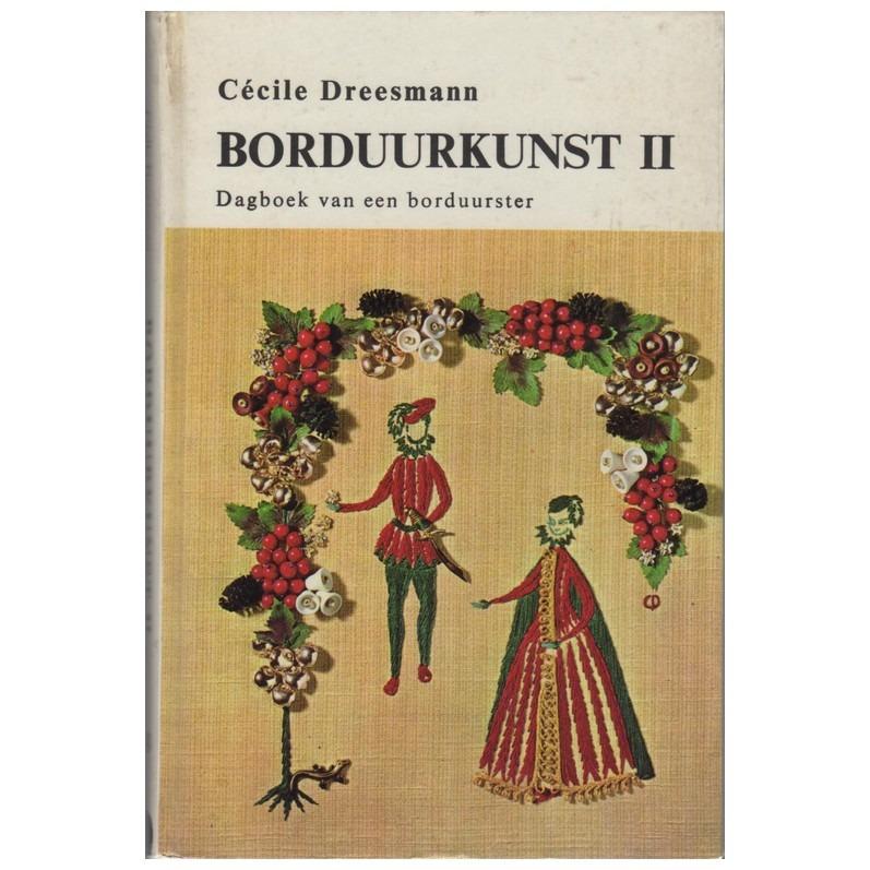 Boek Borduurkunst II dagboek Cecile Dreesmann