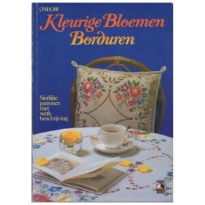 Boek Kleurige Bloemen Borduren
