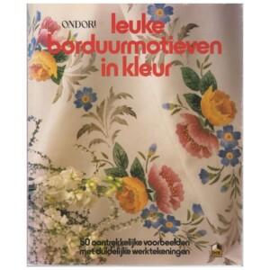 Boek leuke borduurmotieven in kleur