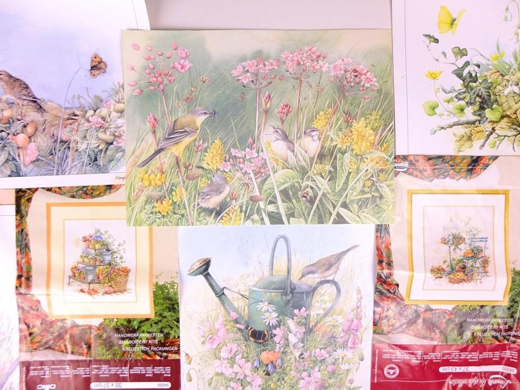 Kalenderplaten Marjolein Bastin en borduurpakketten