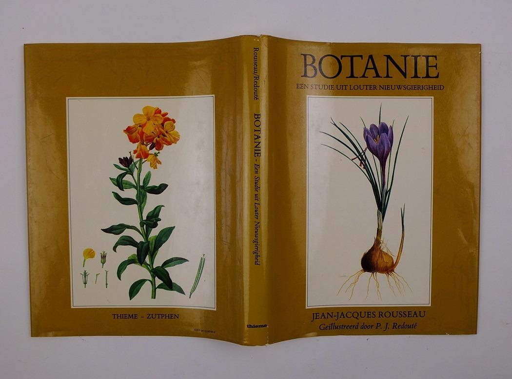 Omslag boek Botanie Rousseau