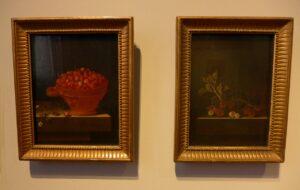 Twee schilderijen Adiaen Coorte