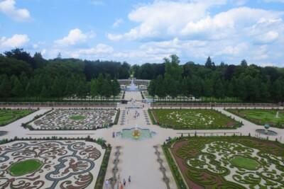 Uitzicht vanaf het dak paleis het Loo