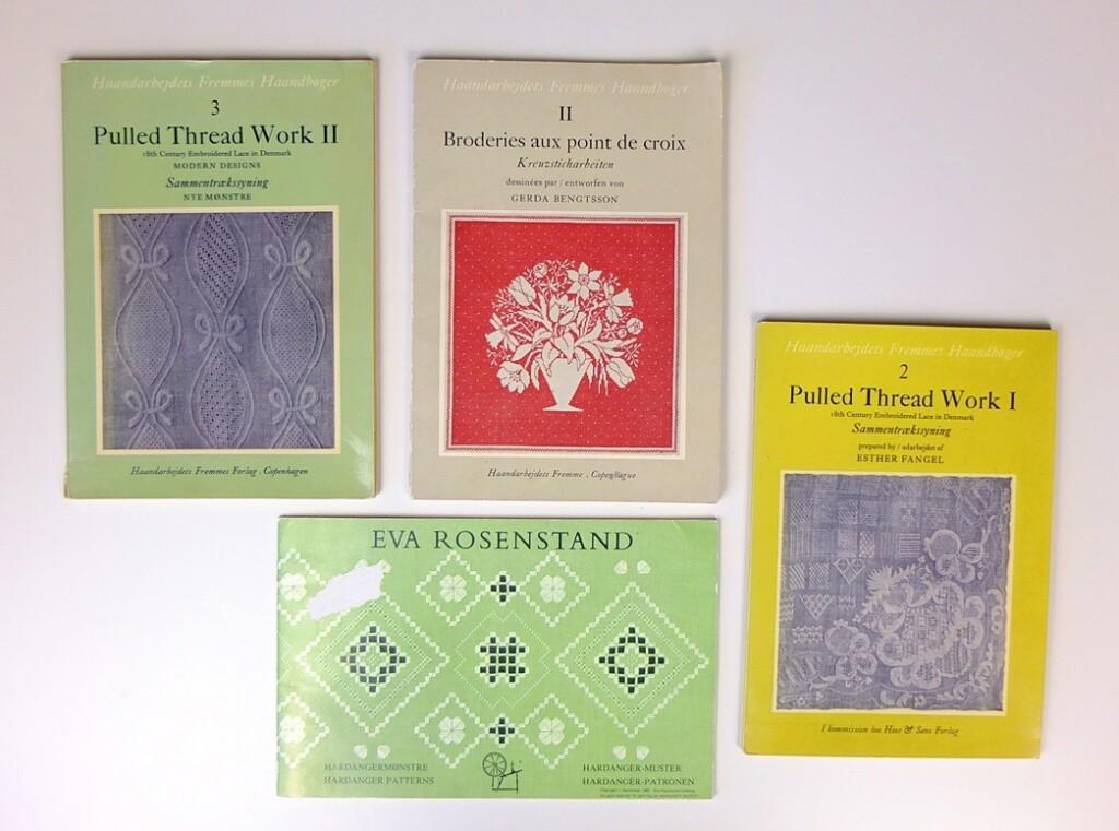 Vier boekjes van Haandarbejdets Fremme