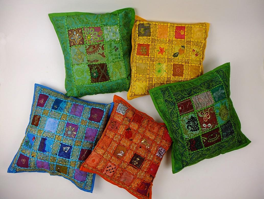 kussens uit nepal en marokko