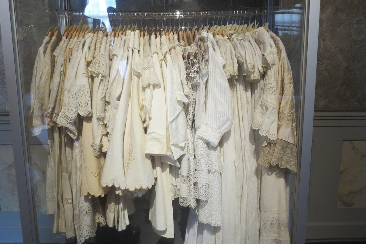 Witte jrukjes in tentoonstelling
