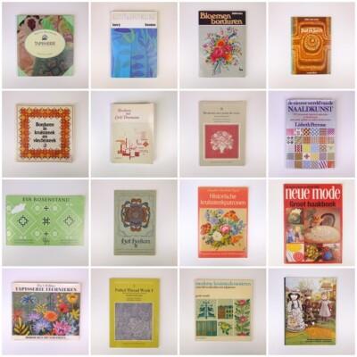 Zestien handwerkboeken