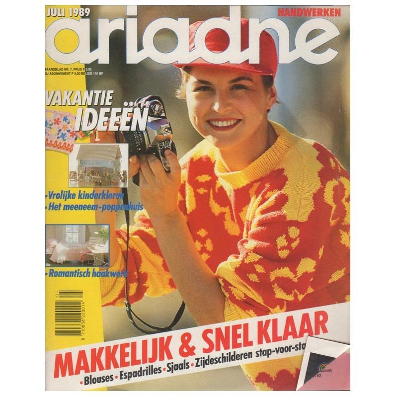 Ariadne juli 1989