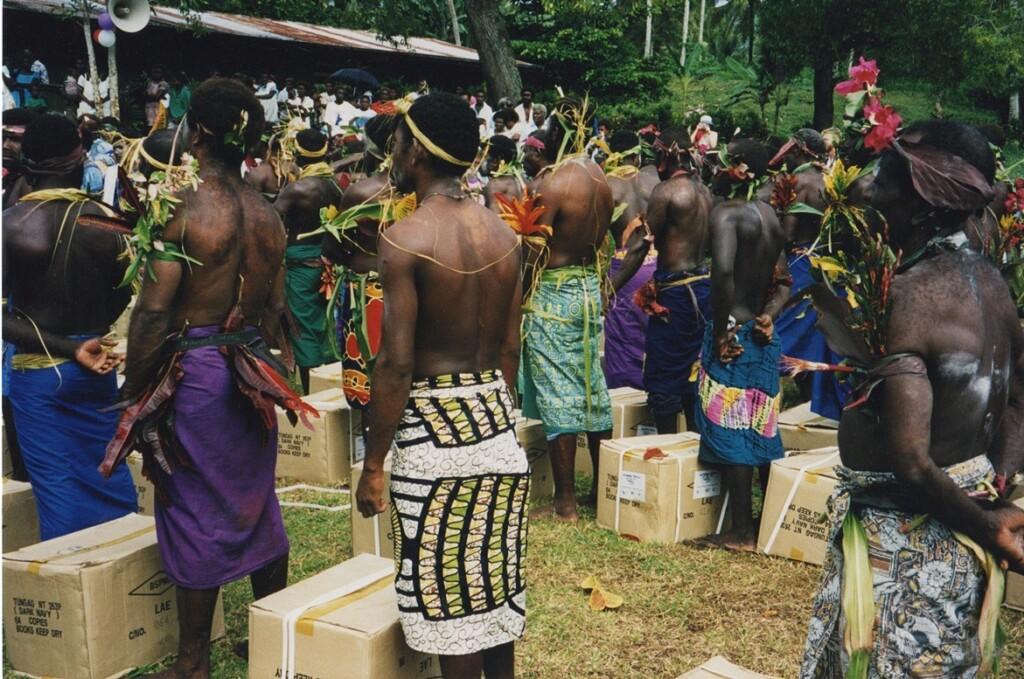 Feest in Papua Nieuw GuineaFeest in Papua Nieuw Guinea 1999