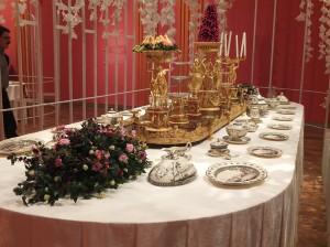 Gedekte teafel in Hermitage