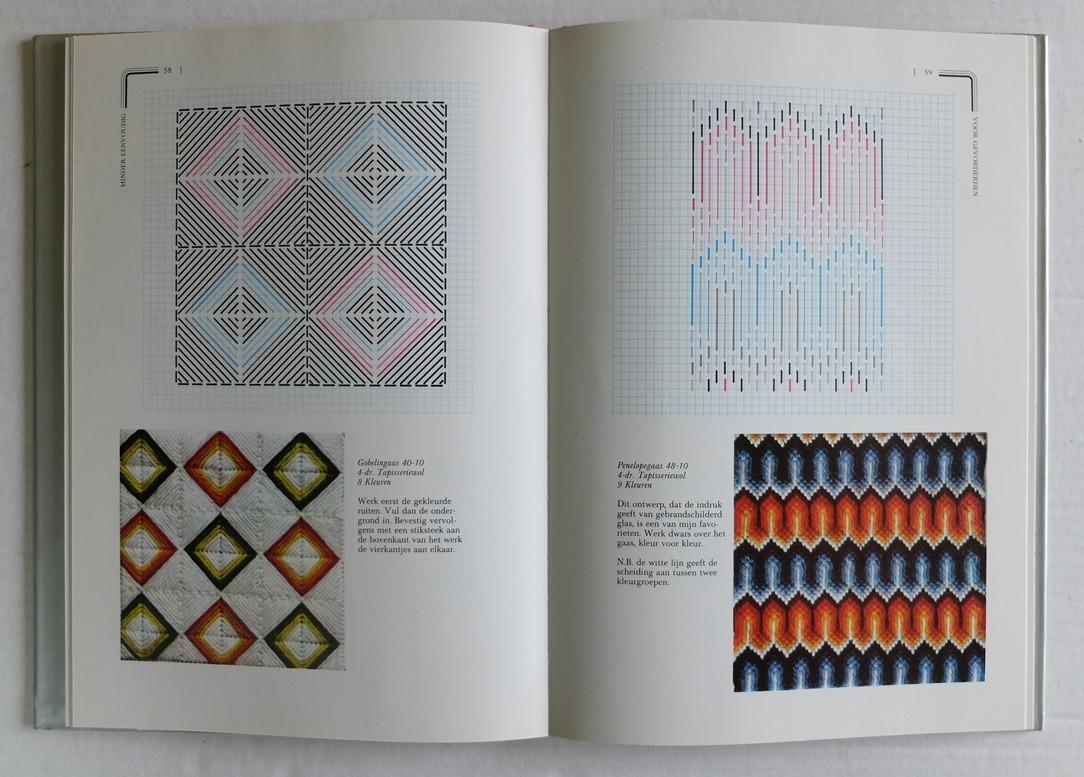 Pagina uit boek Nieuwe wereld van de naaldkunst